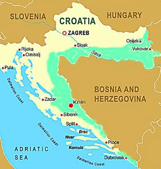 kroatien war