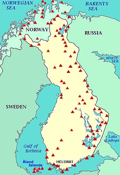 Review of campsites in Finland and Lapland