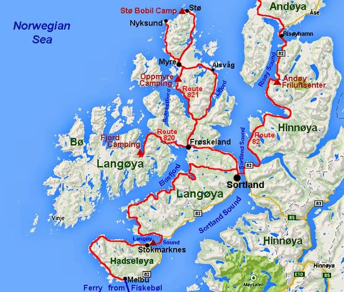 hadseløya kart Week 8: Vesterålen Islands of Hadseløya, Langøya and Hinnøya hadseløya kart
