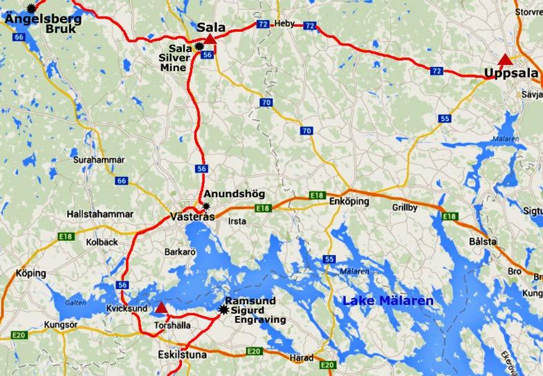 Sala Vsters and Eskilstuna