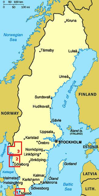 1e21bf47c SWEDEN 2016 Weeks 1~2 - travels with a VW Camper